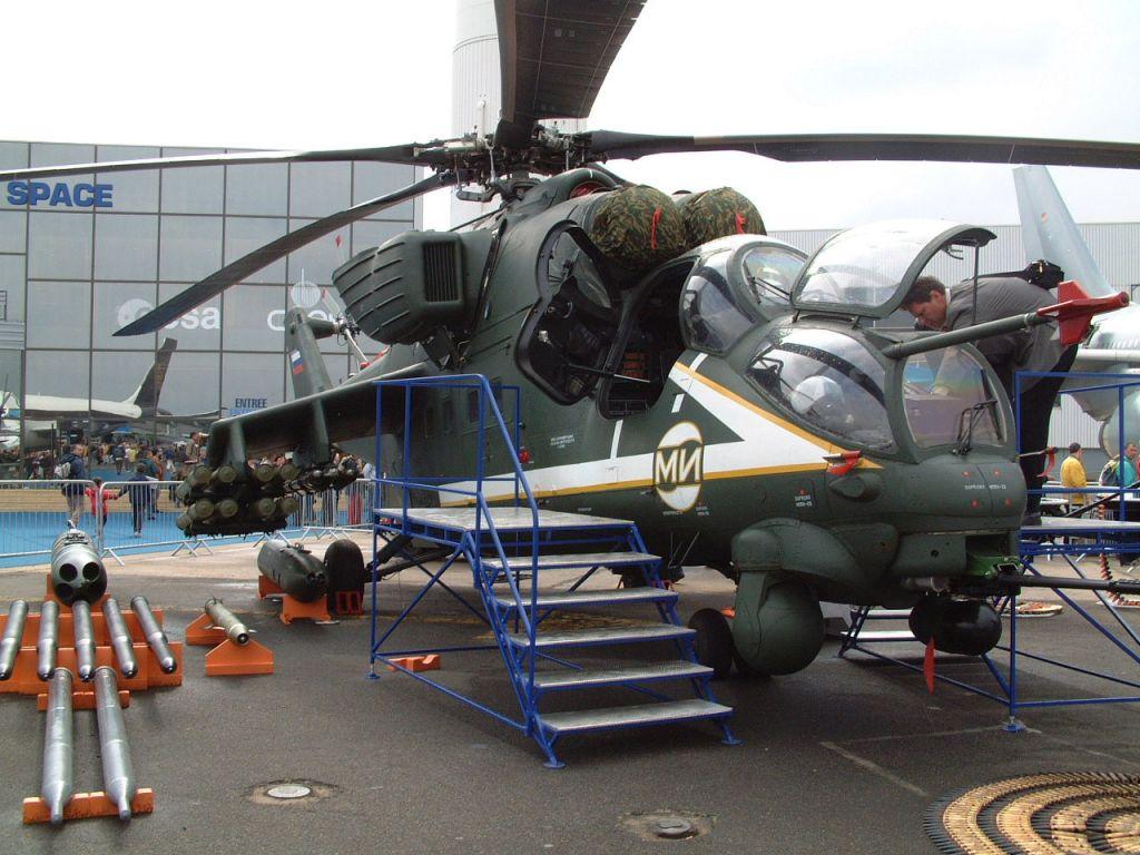 عائلة المروحية الهجومية المتعددة الأدوار الشهيرة Mi24 ـ Mi-35  Mi-35m