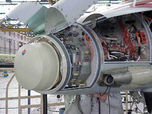 AMX - Conozca los detalles de la modernización de la aeronave A-1M de la FAB Radar-scp-01-1