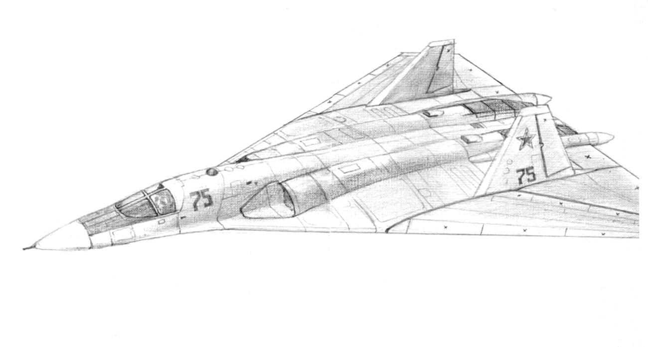 El primer prototipo del bombardero PAK DA estará listo en 2020 PAK-DA03
