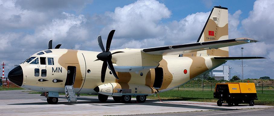 طائرات النقل العاملة بالقوات المسلحة المغربية Lb2334