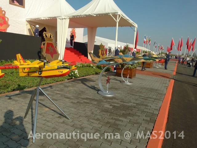 Photos Marrakech Air Show 2014 : Stands FRA et MRM Gal-2601063