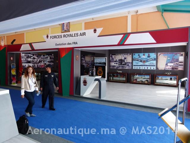 Photos Marrakech Air Show 2014 : Stands FRA et MRM Gal-2601190
