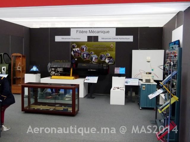 Photos Marrakech Air Show 2014 : Stands FRA et MRM Gal-2601191