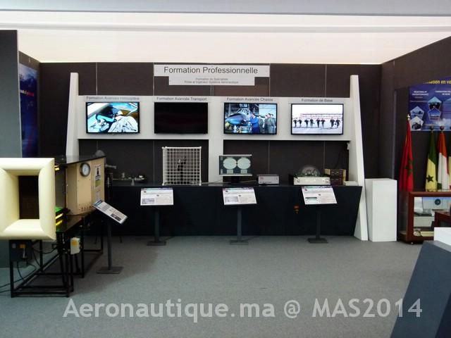 Photos Marrakech Air Show 2014 : Stands FRA et MRM Gal-2601194