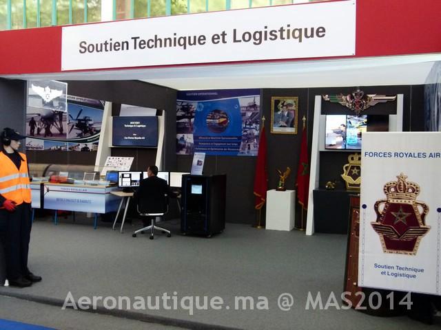 Photos Marrakech Air Show 2014 : Stands FRA et MRM Gal-2601196