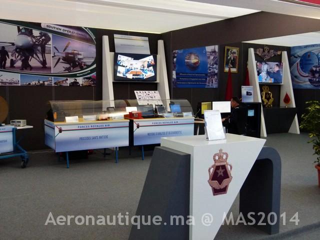 Photos Marrakech Air Show 2014 : Stands FRA et MRM Gal-2601198