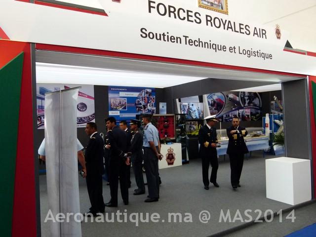 Photos Marrakech Air Show 2014 : Stands FRA et MRM Gal-2601200