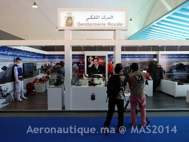 Photos Marrakech Air Show 2014 : Stands FRA et MRM Gal-2601201