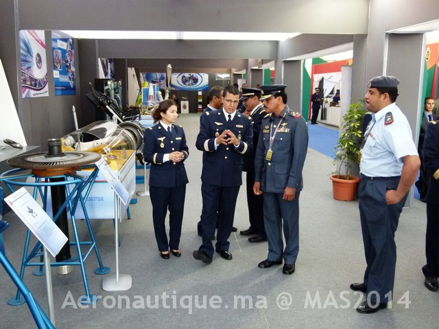 Photos Marrakech Air Show 2014 : Stands FRA et MRM Gal-2601340
