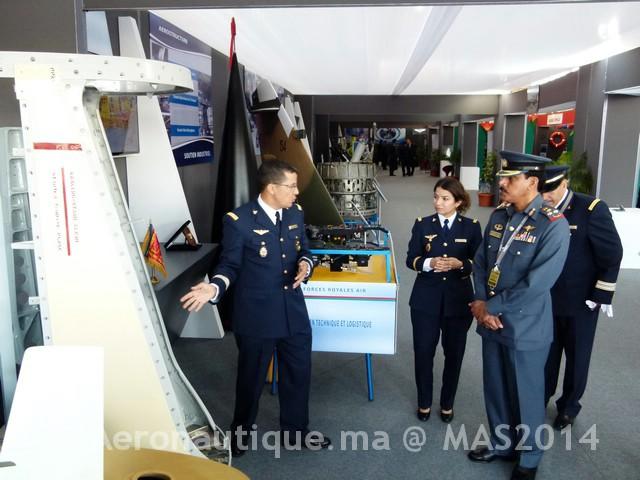 Photos Marrakech Air Show 2014 : Stands FRA et MRM Gal-2601341