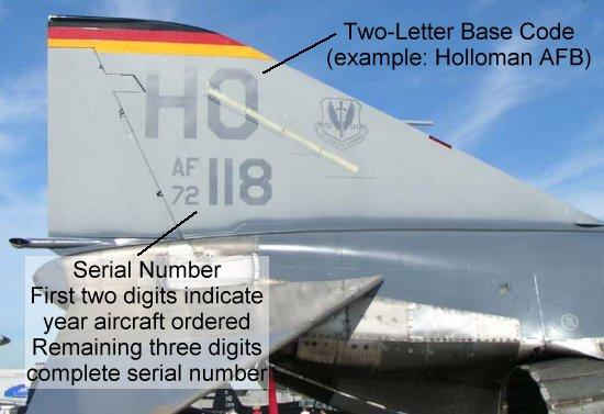 # فك رموز الطائرات الحربية # F4-ho