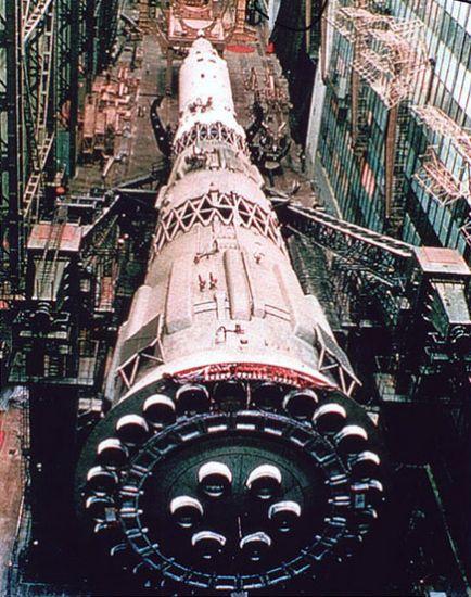 Ma il programma lunare sovietico? N1-1