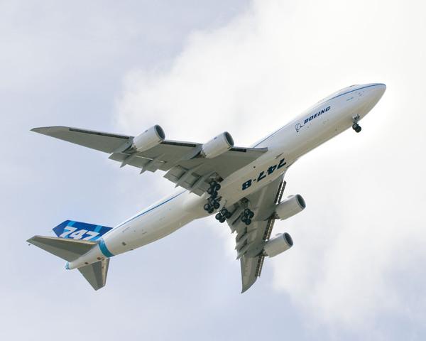 LE BOEING 747-8 502