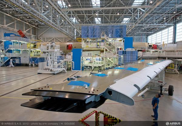 Airbus A350XWB: Livraison de la première aile (photos) 2232