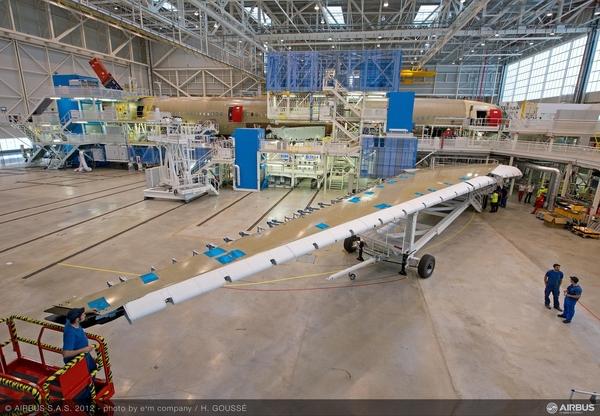 Airbus A350XWB: Livraison de la première aile (photos) 2233