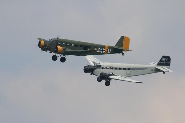 """Le 19 mai dernier, Aeroweb-fr.net a été à la découvert de la mythique """"Tante JU"""". Dans cette première partie le Junkers JU-52 de l'AJBS. 5469"""