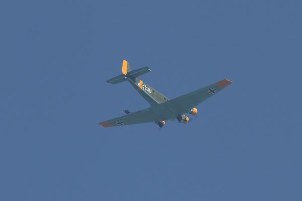 """Le 19 mai dernier, Aeroweb-fr.net a été à la découvert de la mythique """"Tante JU"""". Dans cette première partie le Junkers JU-52 de l'AJBS. 5487"""