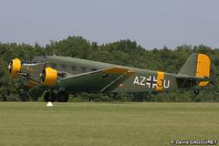 """Le 19 mai dernier, Aeroweb-fr.net a été à la découvert de la mythique """"Tante JU"""". Dans cette première partie le Junkers JU-52 de l'AJBS. 5478"""