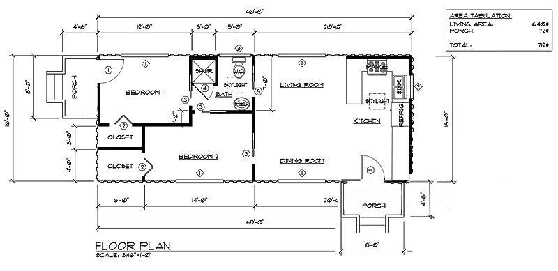 Action at A Distance, Good Simple Ideas Newfloorplan