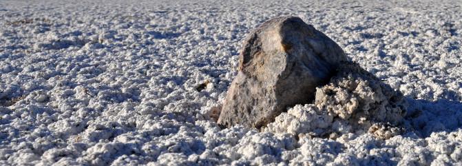 Tormentas y microbios están detrás del misterio de las piedras errantes Piedramonticulosedimento2_image671_405