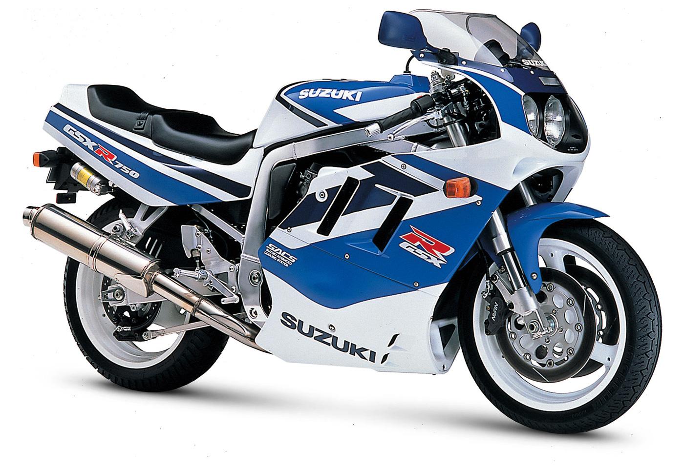 VIEUX GEX 1991-Suzuki-GSX-R750a