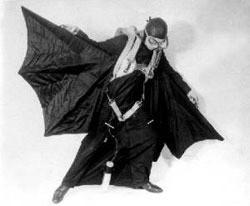 Fusion man a traversé la Manche avec son aile volante Harryward