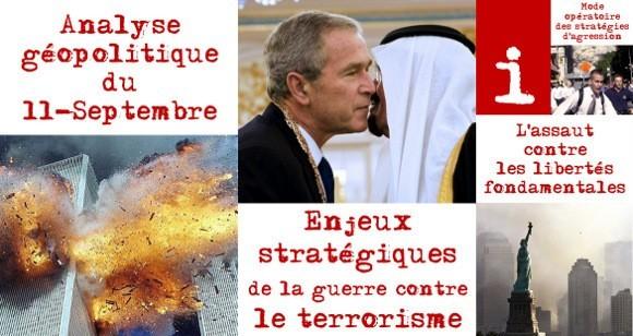 pour - Le 11-Septembre et les enjeux stratégiques de la guerre contre le terrorisme QX4color-55a06
