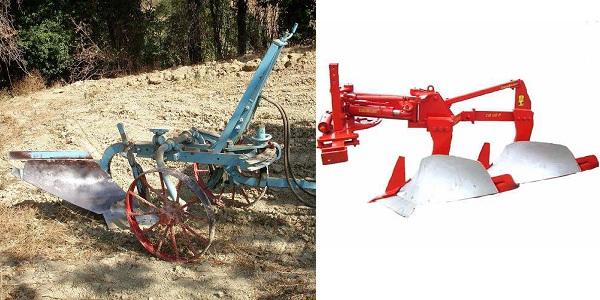 trattori e trattori agricoli stradali gommati cingolati  Aratro4