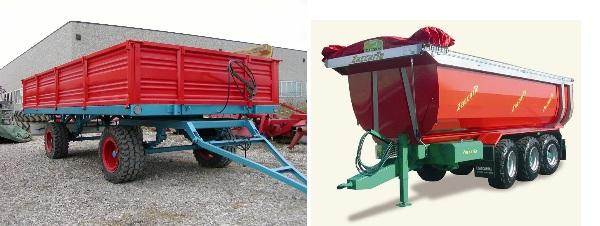 trattori e trattori agricoli stradali gommati cingolati  Rimorchi2