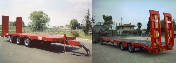 trattori e trattori agricoli stradali gommati cingolati  Rimorchio1