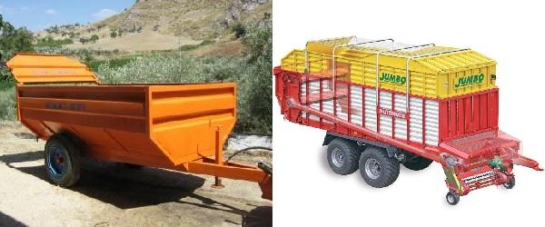 trattori e trattori agricoli stradali gommati cingolati  Rimorchio3