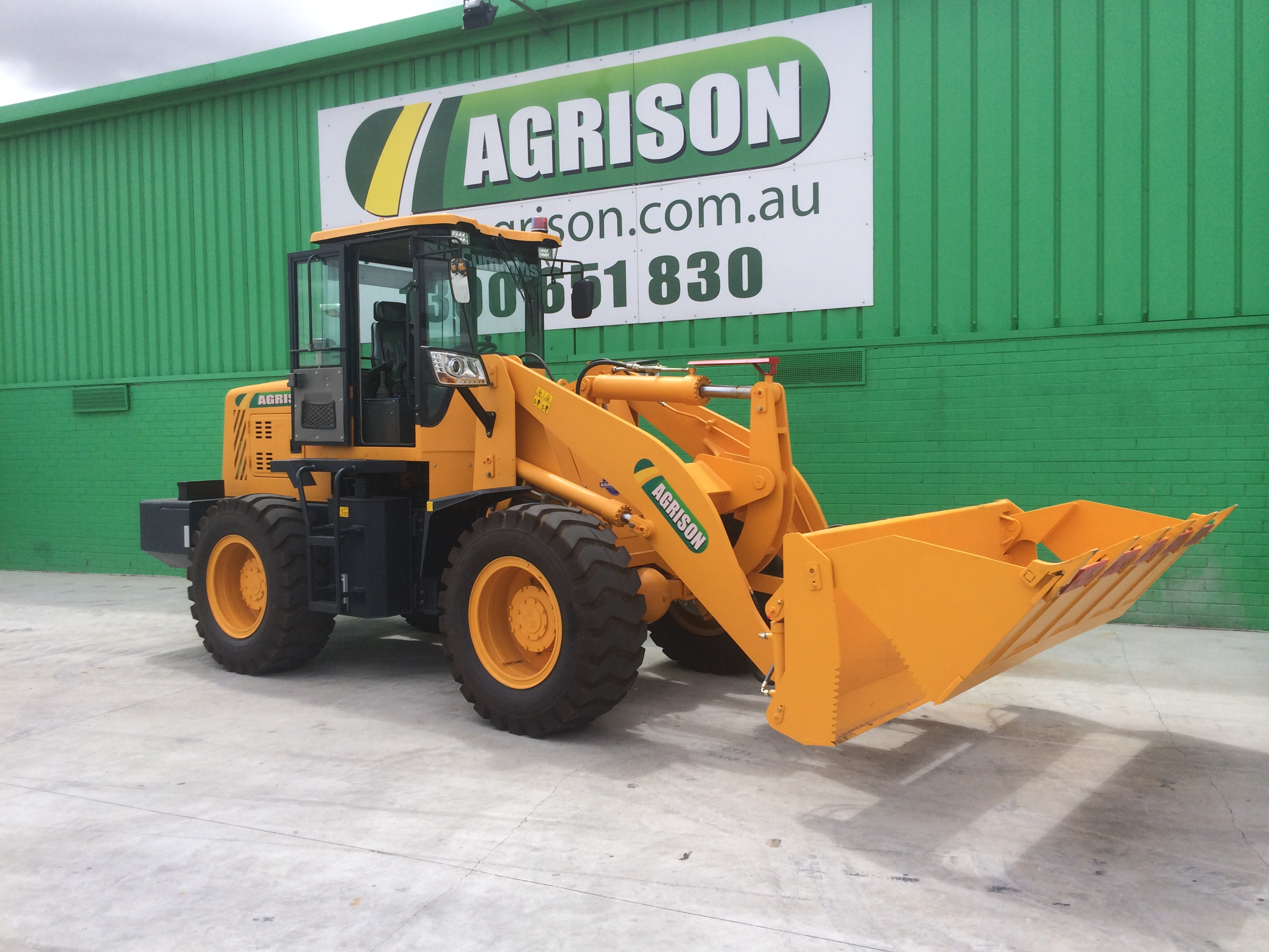 macchine agricole agrison australia TX932-Agrison-Wheel-Loader-1
