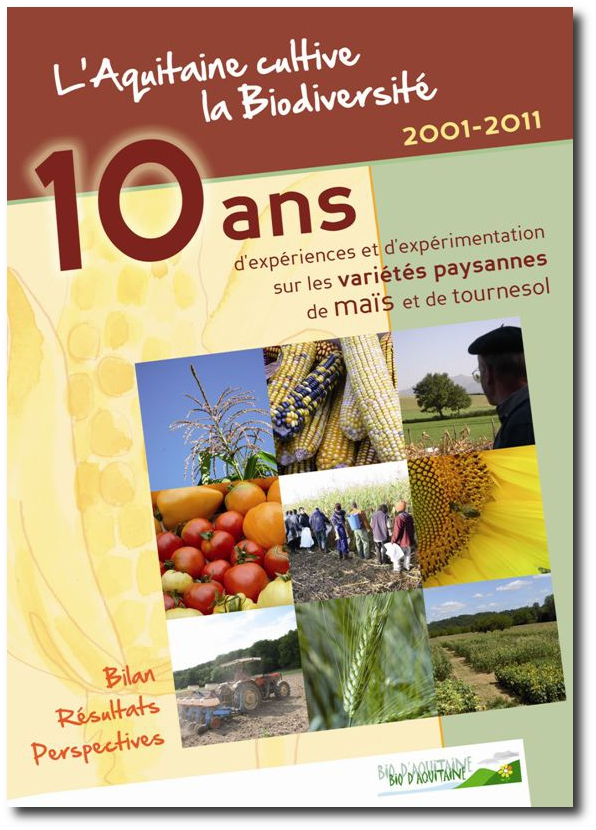 Des maisons de semences paysannes pour se libérer de l'agrobusiness Couverture_Publication10ans