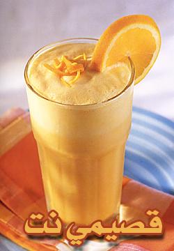 عصير البرتقال والموز Iced_carrot_orange_smoothie