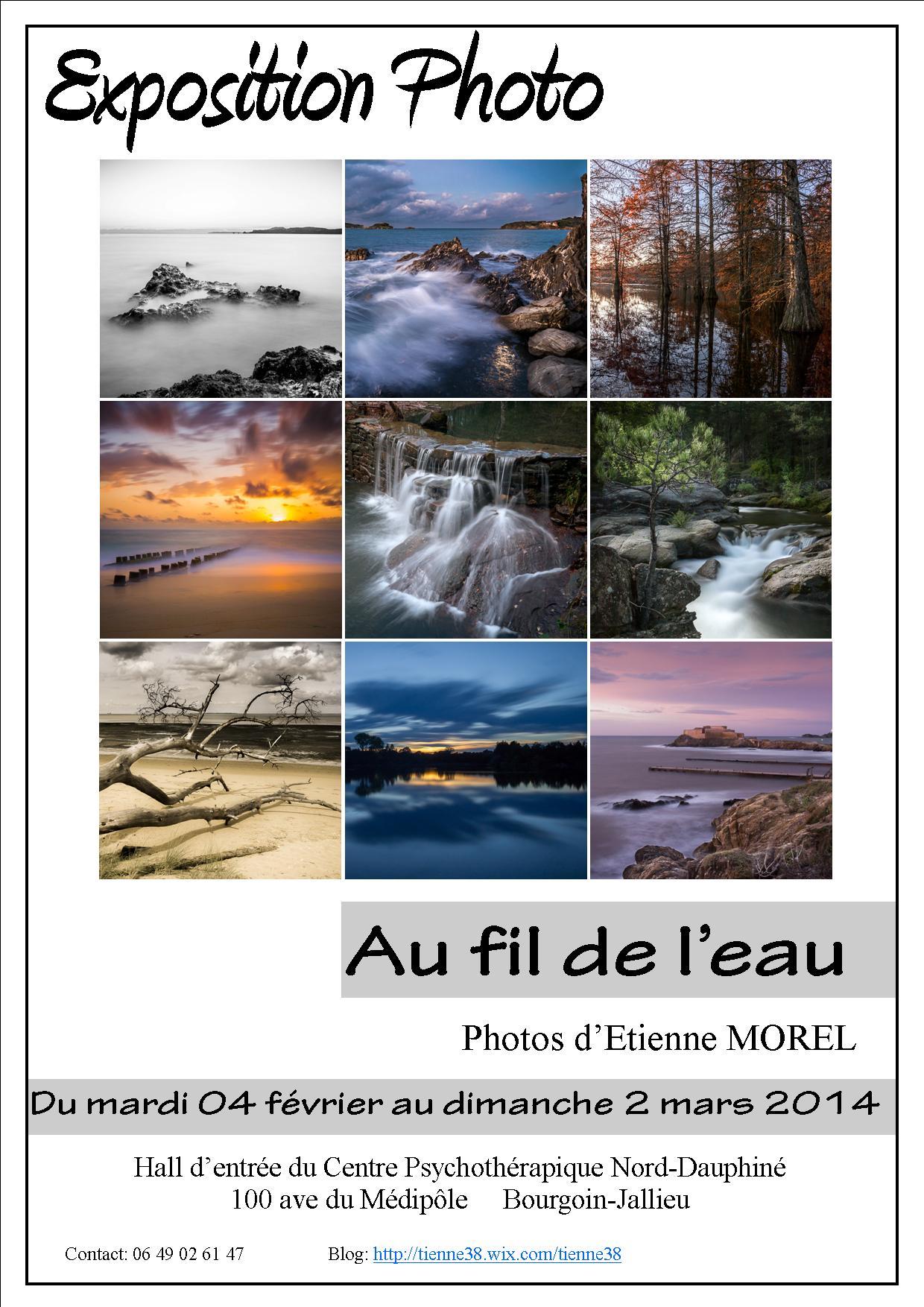 Expo en Nord-Isère Affiche