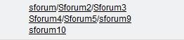 Personnaliser l'affichage des sous-forums Sf