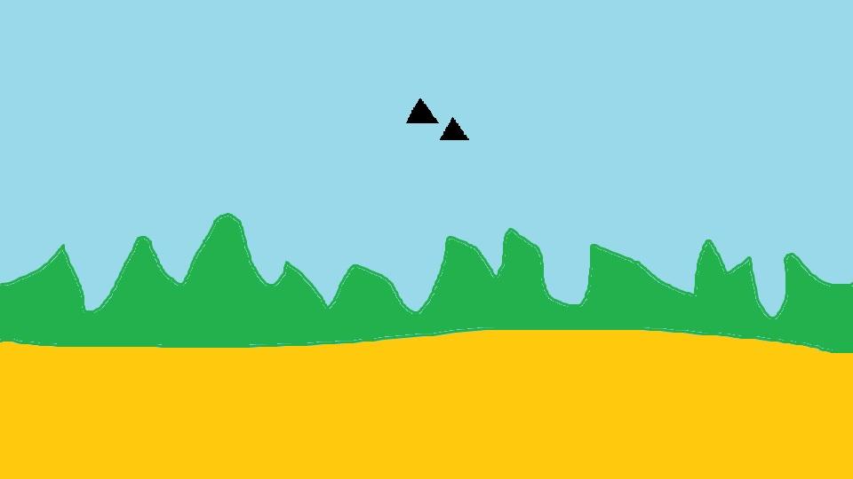 2016: le 13/04 à 15h - Ovni triangulaire volant -  Ovnis à mont-de-marsan - Landes (dép.40) 01