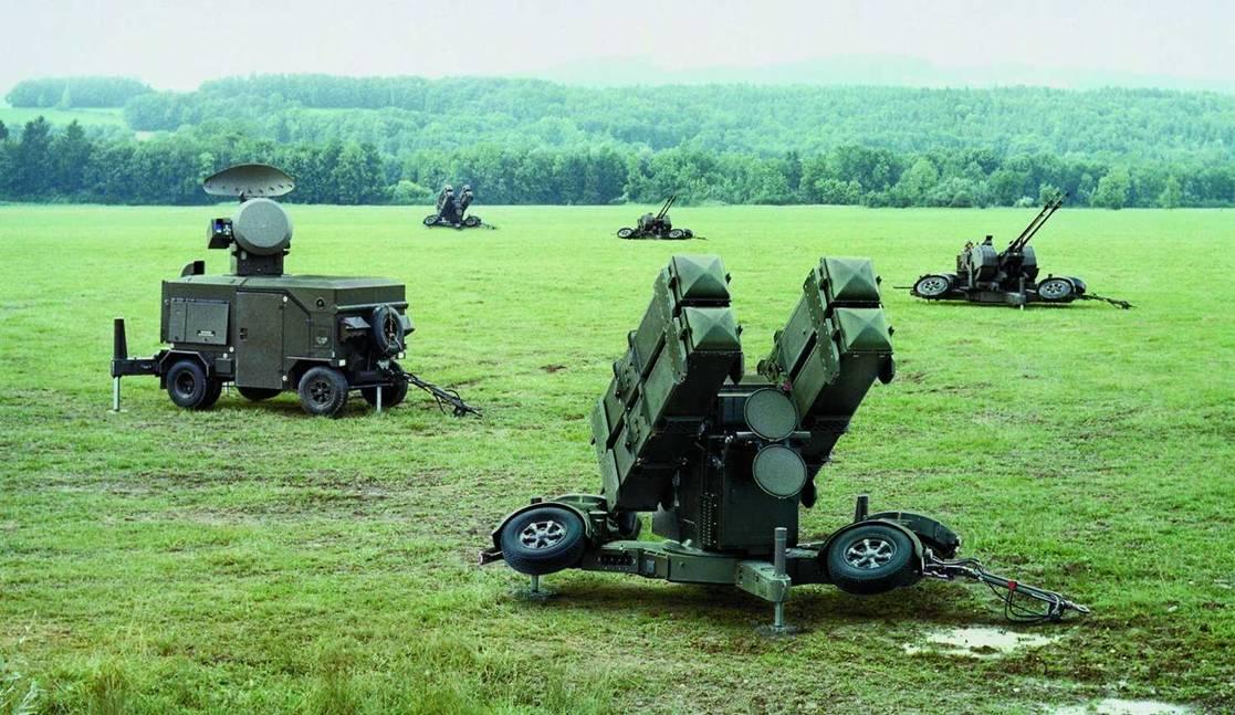 المغرب حصل على  نظام الدفاع الجوي القصير المدى TY-90 / DY-90 SHORAD Oerlikon_Skyguard_System_d0