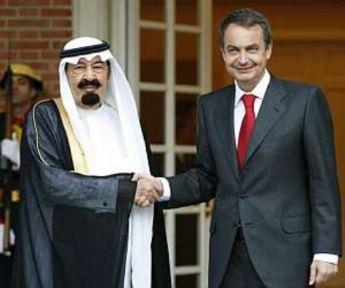 Zapatero y Juanca reciben al príncipe Saudí, quien comprará tanques españoles ZAPATERO%20Y%20REY