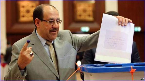 Maliki's 3rd term chances... 20140507125805