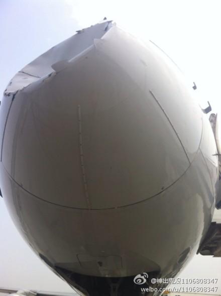 Un avion d'Air China percute un OVNI - Page 2 Air-journal-air-china-collision-2