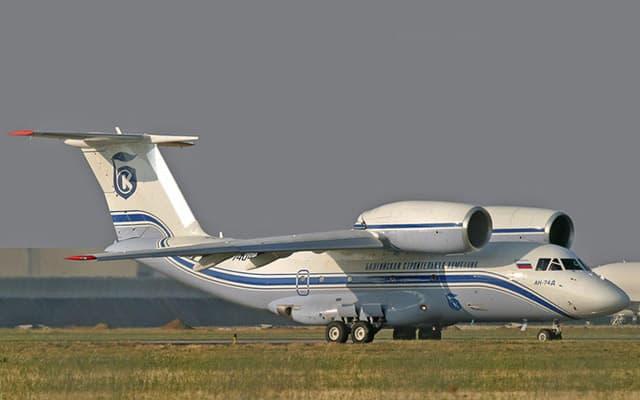 Unión - Antonov An-74  ( avión de transporte STOL Unión Soviética/Ucrania) 1834