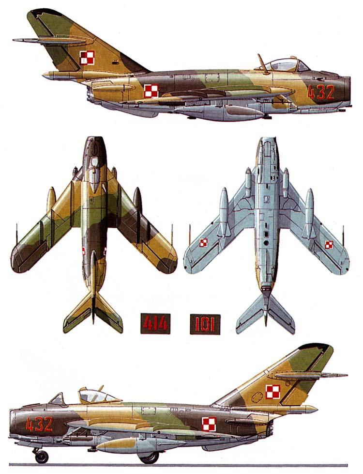 موسوعة اجيال الطائرات المقاتلة واشهر طائرات كل جيل - صفحة 4 Mig17