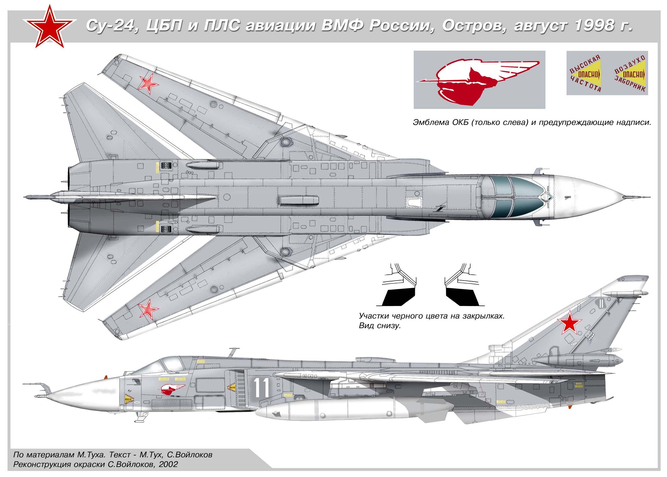El primer prototipo del bombardero PAK DA estará listo en 2020 Su24-200dpi-2