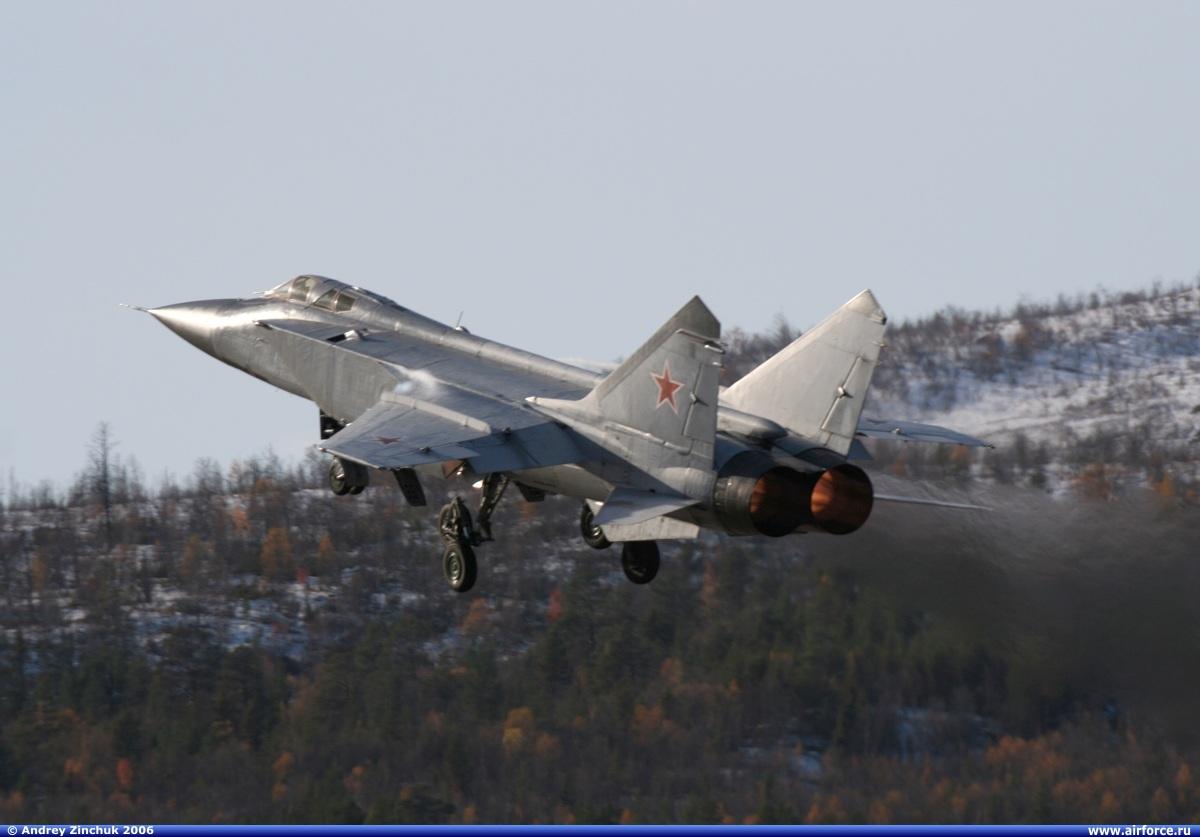 Poderio Militar Ruso (actualizado 2010). Az_mig-31