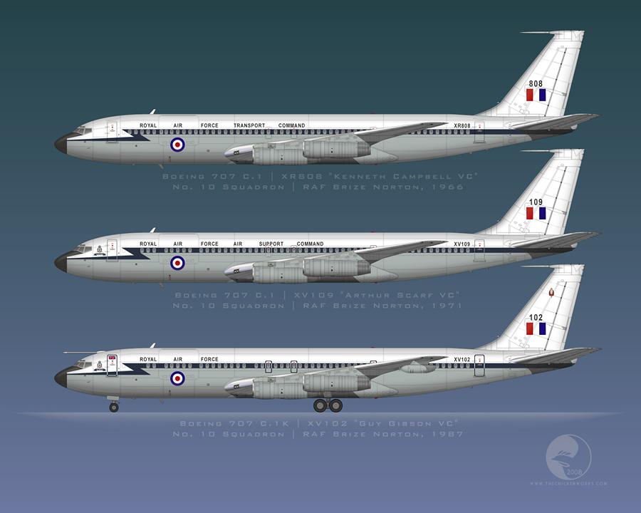Cambia de color el B-737 de la FAM. 707320C_RAFwhite