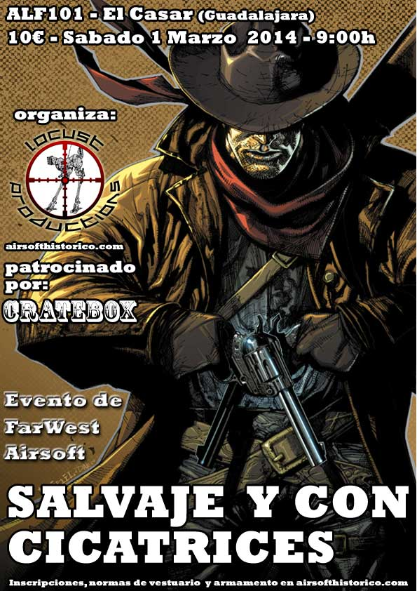 Far west airsoft en Madrid  - Página 2 Salvaje-cicatrices-patrocinio