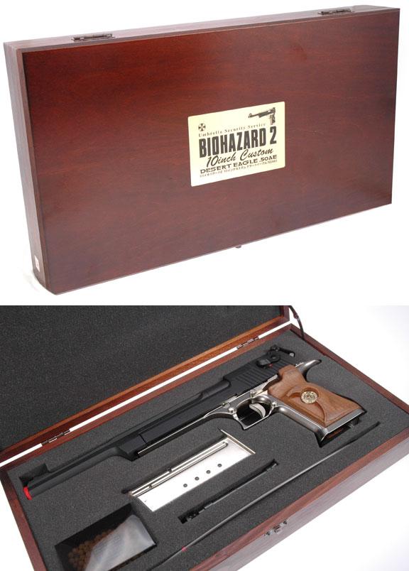 """Nuevo Lanzamiento Marui P226 """"Biohazard"""" Tm-gbb-bio2delong-box1"""