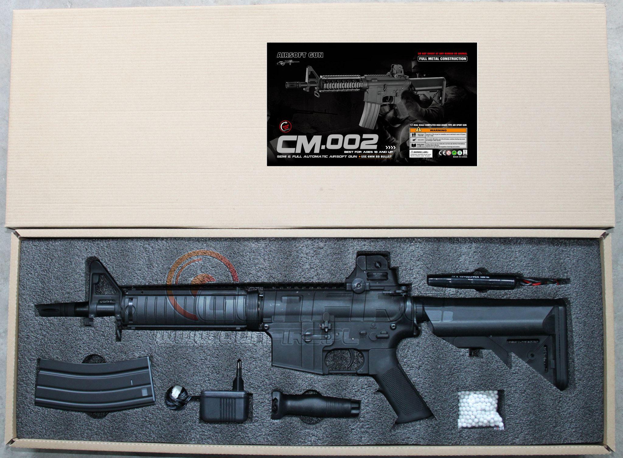 Cyma anuncia que fabricará M4 - M16 CM-002