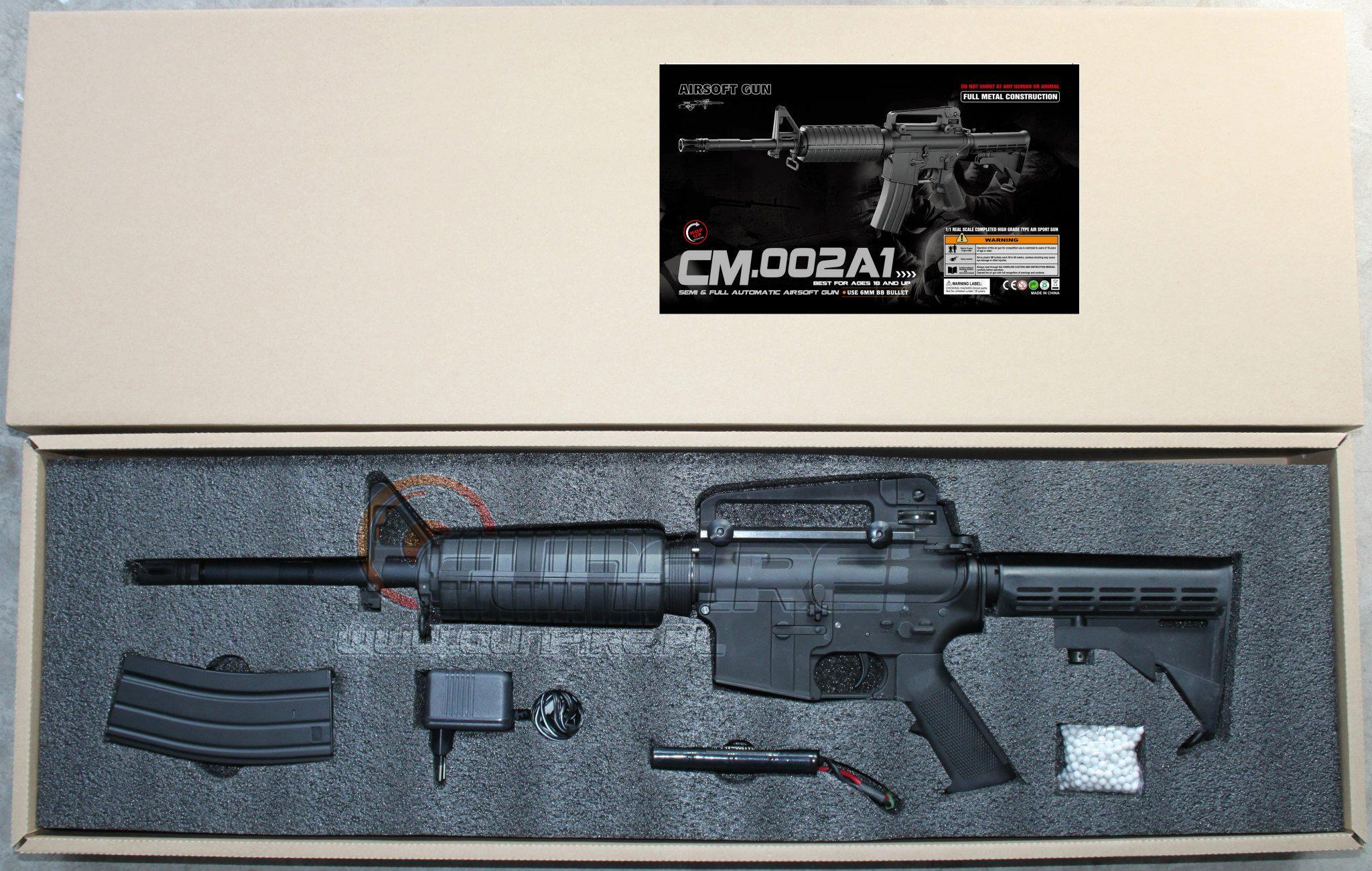 Cyma anuncia que fabricará M4 - M16 CM-002A1